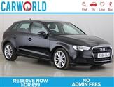 Audi A3 1.4 TFSI SE 5d 148 BHP