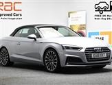 Audi A5 *CONVERTIBLE* 2.0 TFSI QUATTRO S LINE 2d 248 BHP