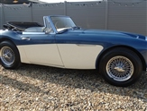 Austin Healey 3000 BJ8 MARK 3 WITH OVERDRIVE