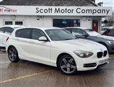 BMW 1 Series 1.6 116I SPORT 5d 135 BHP
