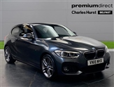 BMW 1 Series 116d M Sport 3dr [Nav/Servotronic]