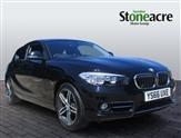 BMW 1 Series 118d Sport 3dr [Nav/Servotronic]