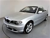 BMW 3 Series 2.5 325CI SE 2d 190 BHP-TITANIUM SILVER METALLIC-CLIMATE CONTROL-BLACK HEATED EXCLUSIVE NAPPA LEATHE