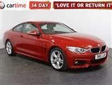 BMW 4 Series 2.0 420D M SPORT 2d 188 BHP SAT NAV Heated Leather Seats DAB Digital Radio Parking Sensors 18 inch A
