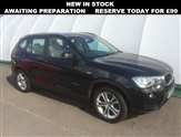 BMW X3 2.0 XDRIVE20D SE 5d 188 BHP