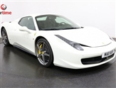 Ferrari 458 4.5 SPIDER DCT 2d AUTO 570 BHP LHD SAT NAV Heated Leather Seats Electric M