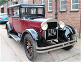 Hudson Super Six Right Hand Drive Totally Original Burgundy Black 1928 and 2 Owners