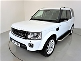 """Land Rover Discovery 3.0 SDV6 LANDMARK 5d AUTO 255 BHP-1 OWNER-SIDE STEPS-7 SEATS-20""""ALLOYS-SUNROOF-HEATED BLACK LEATHER-"""