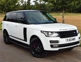 Land Rover Range Rover TDV6 VOGUE - STUNNING WHITE & BLACK EDITION