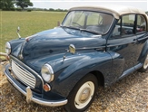 Morris Minor convertible [ nut and bolt restored]