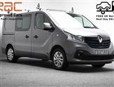 Renault Trafic 1.6 SL27 SPORT NAV ENERGY DCI CREW 125 BHP