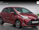 Toyota Yaris 1.5 Hybrid Y20 5dr CVT [Bi-tone]