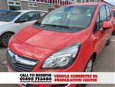 Vauxhall Meriva 1.4 LIFE 5d 99 BHP
