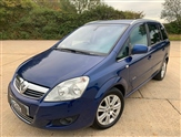 Vauxhall Zafira 1.7 CDTi ecoFLEX Elite [110] 5dr - 7 seater - full leather seats